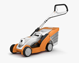 3D model of Stihl RMA 339 C Lawn mower