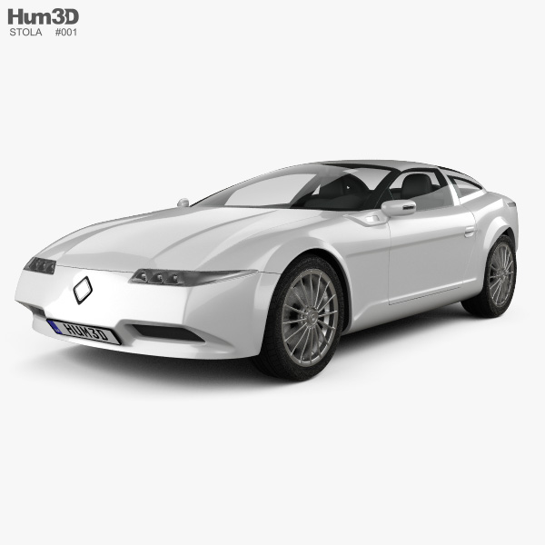 Stola S86 Diamante 2005 3D model