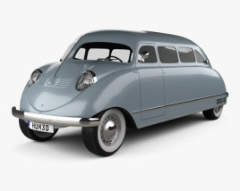 3D model of Stout Scarab 1936