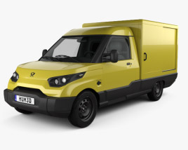 3D model of StreetScooter Van 2016