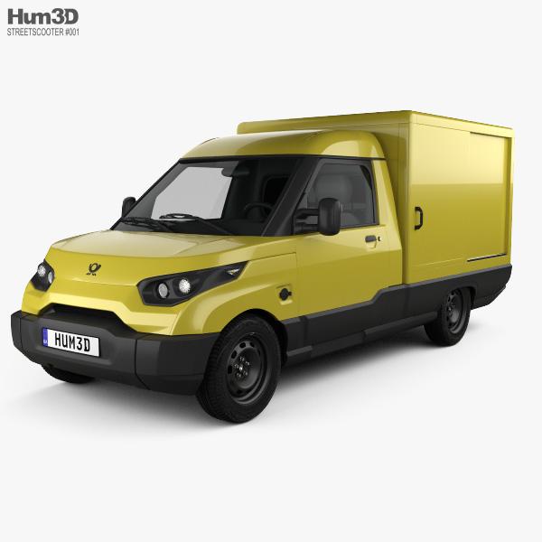 StreetScooter Van 2016 3D model