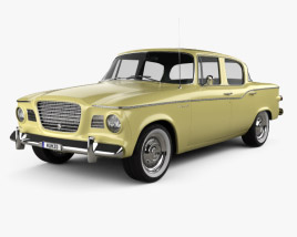 Studebaker Lark sedan 1960 3D model