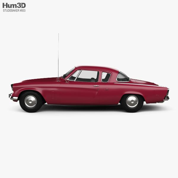 Studebaker Champion Starlight Coupe 1953 3D model