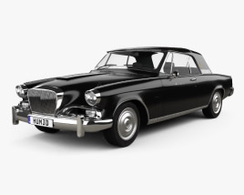3D model of Studebaker Gran Turismo Hawk 1963
