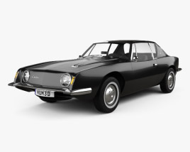 3D model of Studebaker Avanti 1963