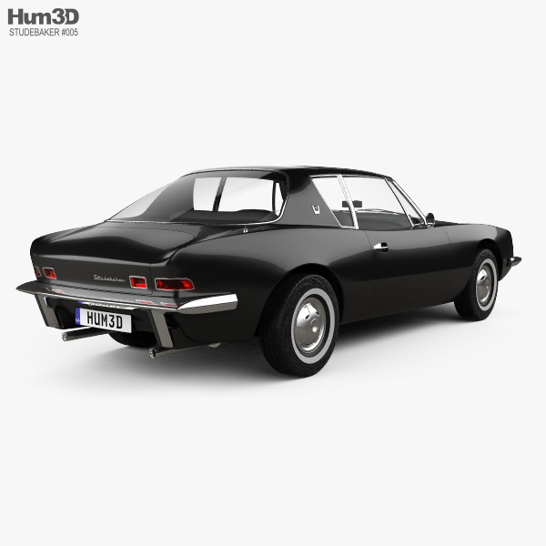Studebaker Avanti 1963 3D model