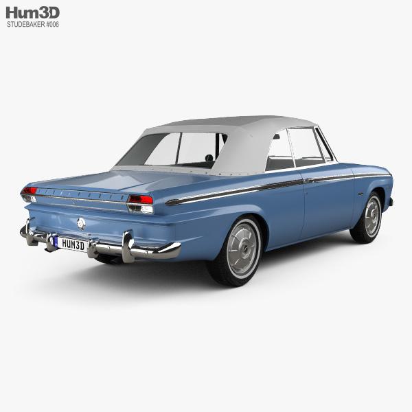 Studebaker Daytona Convertible 1964 3D model