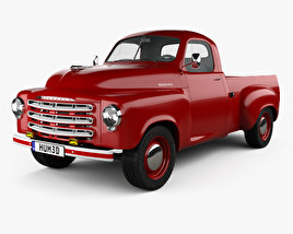 3D model of Studebaker Pickup 1950