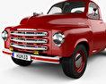 Studebaker Pickup 1950 3d model
