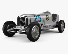 3D model of Studebaker Indy 500 1932