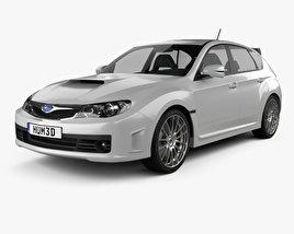 Subaru Impreza WRX STI 2010 3D model