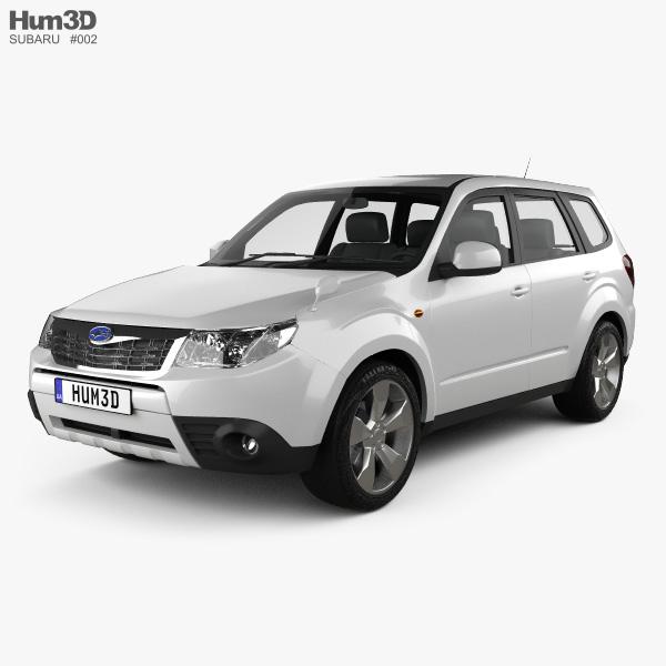 Subaru Forester 2008 3D model