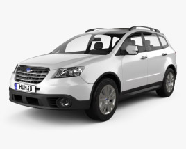 3D model of Subaru Tribeca 2010