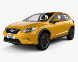 3D model of Subaru XV 2012