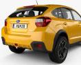 Subaru XV 2012 3d model