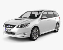 3D model of Subaru Exiga 2008