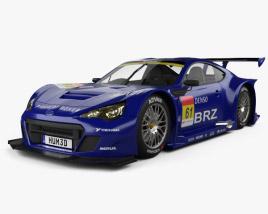 3D model of Subaru BRZ GT300 2013