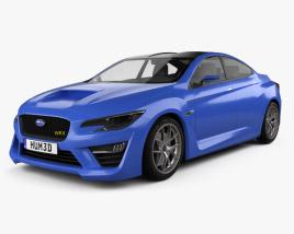 3D model of Subaru WRX concept 2013