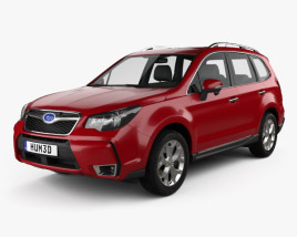 3D model of Subaru Forester (US) 2014