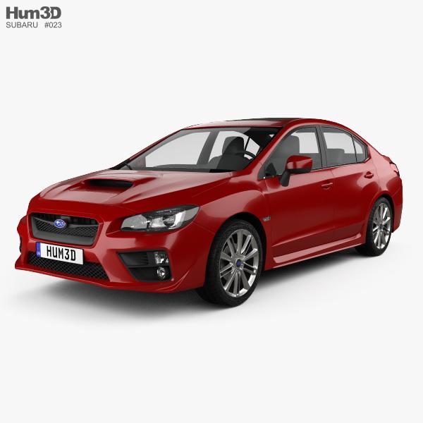 Subaru WRX 2014 3D model