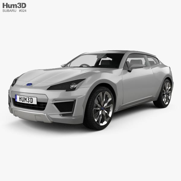 Subaru Cross Sport 2013 3D model