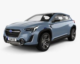 3D model of Subaru VIZIV 2 2014