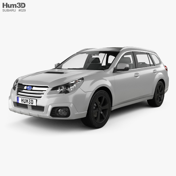 Subaru Outback SX 2012 3D model