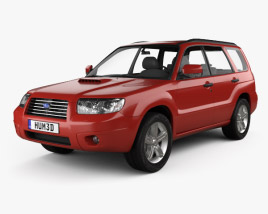 3D model of Subaru Forester 2006