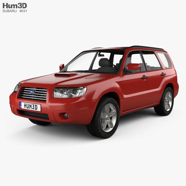 Subaru Forester 2006 3D model