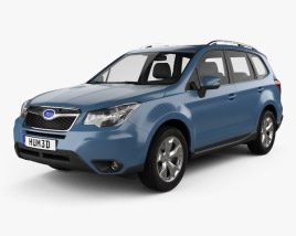 3D model of Subaru Forester XC 2014