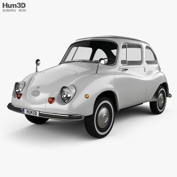 Subaru 360 1958 3D model