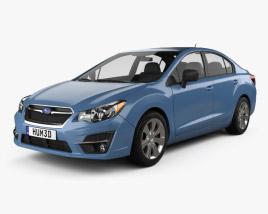 3D model of Subaru Impreza 2015