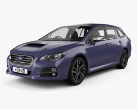 3D model of Subaru Levorg 2015