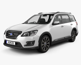 3D model of Subaru Exiga Crossover 7 2015