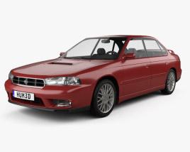 3D model of Subaru Legacy 1994