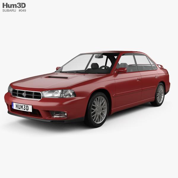 Subaru Legacy 1994 3D model