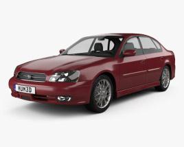 3D model of Subaru Legacy 1998