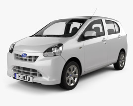 3D model of Subaru Pleo Plus 2012