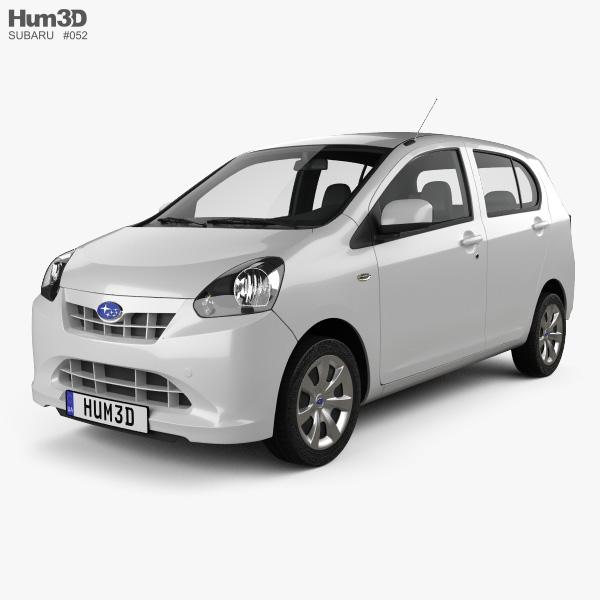 Subaru Pleo Plus 2012 3D model
