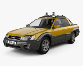 3D model of Subaru Baja 2002