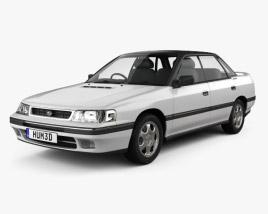 3D model of Subaru Legacy 1989