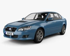3D model of Subaru Legacy 2008