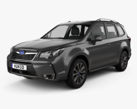 3D model of Subaru Forester XT Touring 2016