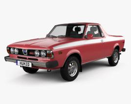 3D model of Subaru BRAT 1978