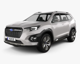 3D model of Subaru VIZIV-7 SUV 2016