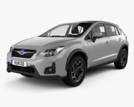 3D model of Subaru XV 2016