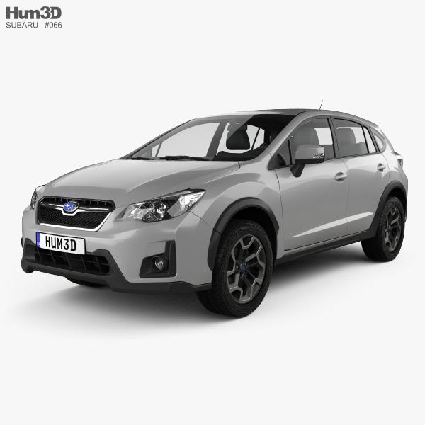 Subaru XV 2016 3D model