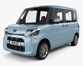 Subaru Chiffon 2016 3D model
