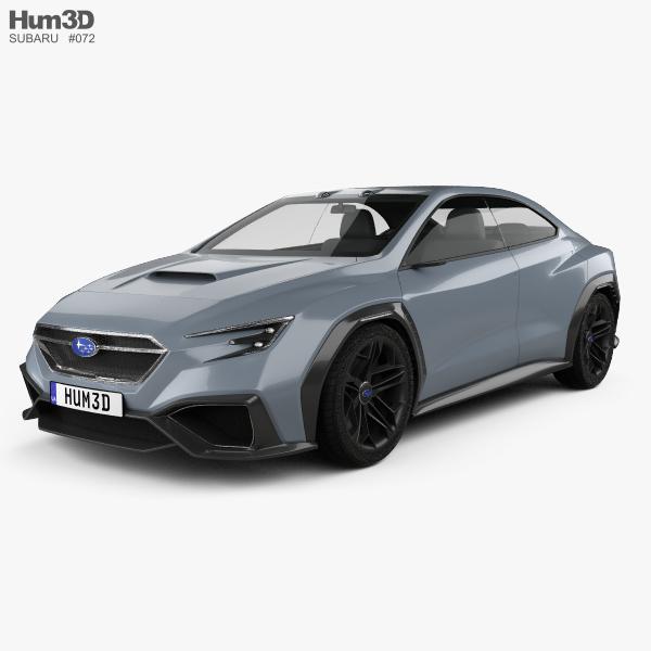 Subaru VIZIV Performance 2017 3D model