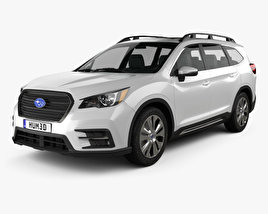 3D model of Subaru Ascent Touring 2018